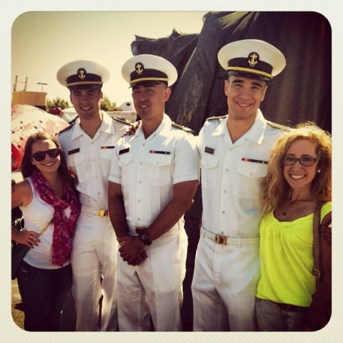 Our newest friends from #redbull #flugtag! The men from Annapolis #USNA  (Taken with Instagram)
