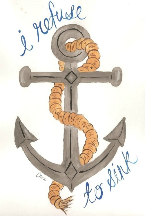 Anchors away!
