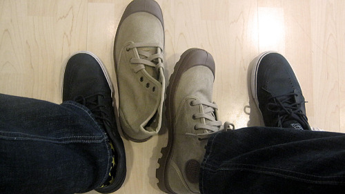 New pairs of Palladium Boots A free pair of Palladium Boots Pampa Hi Dark Khaki. Thanks to The Flat Shop.      The Flat Shop is located at the Greenhills Shopping Center, Ground Floor, Connecticut Arcade, San Juan City, Philippines. They carry the brands like Tkees, Girl Two Doors Down, Flexflop, Anthology, Bandals, FitFlop, Melissa, Butterfly Twists and Palladium Boots. Like The Flat Shop on Facebook at http://www.facebook.com/theflatshop or Palladium Boots Philippines at http://www.facebook.com/PalladiumBoots.PH.