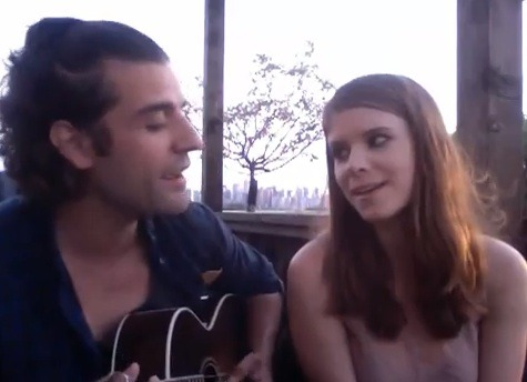 Video Chat Karaoke: VIDEO CHAT KARAOKE SPECIAL: OSCAR ISAAC + KATE MARA FROM '10 YEARS'!by Zooey Deschanel http://bit.ly/OxmzE3