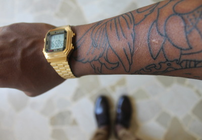 New Pick Up: Casio Gold & Half sleeve