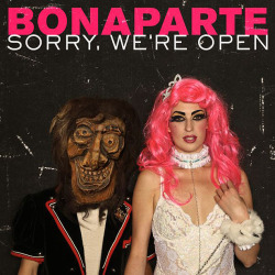 kristinadancestojoydivision:  such a nice cover of the new Album from Bonaparte. Genuis.