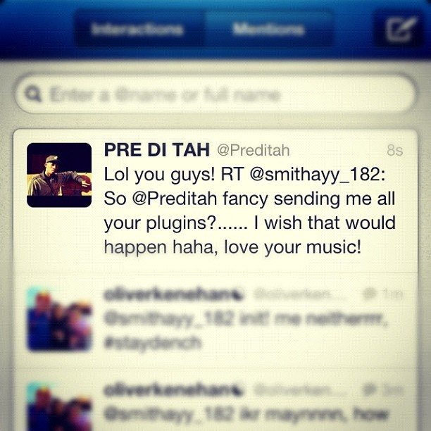 Haha @preditah (Taken with Instagram)
