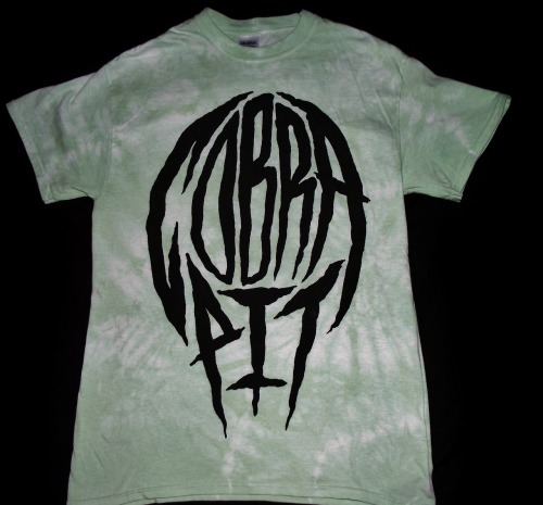 Green tye dye - One off!