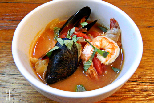 Inspired recipe: Cioppino