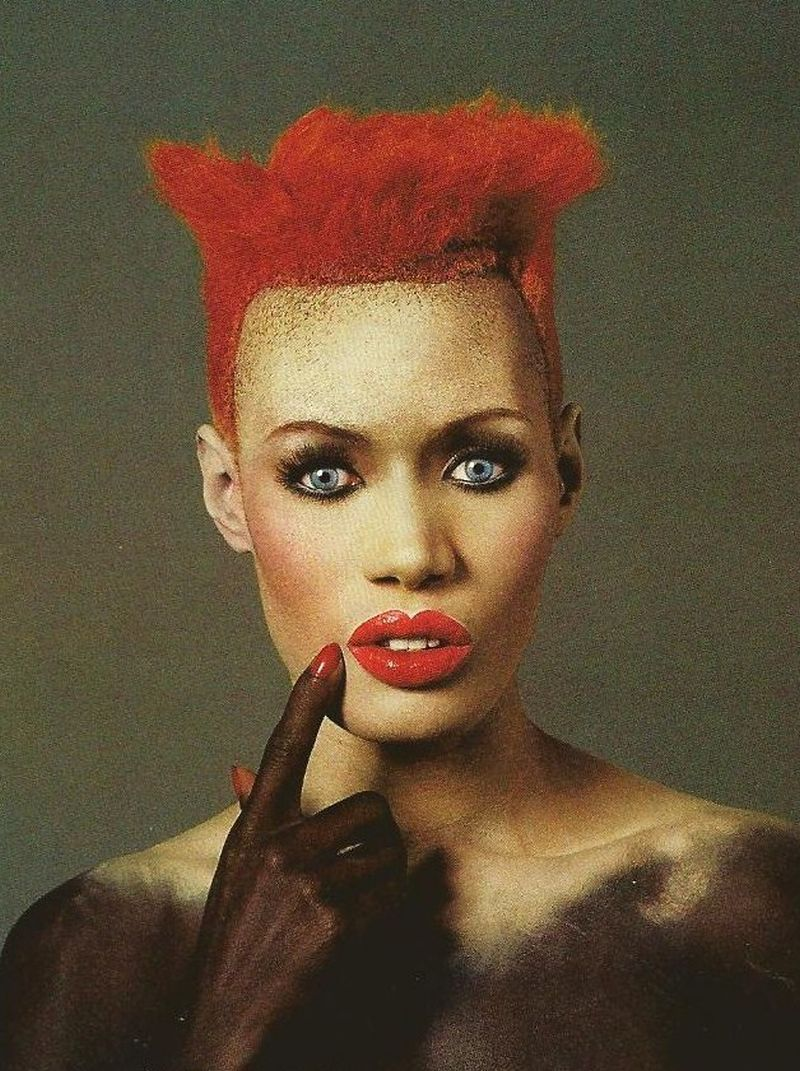 80s-90s-supermodels:  Grace Jones, early 80s