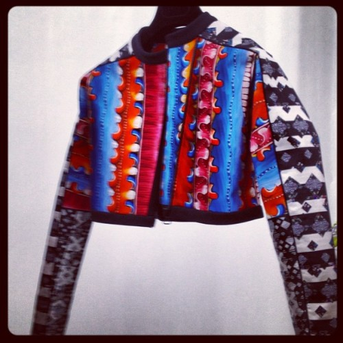#PeterPilotto is giving Joseph & his Amazing Technicolour Dreamcoat a run for his money. #LFW (Taken with Instagram)