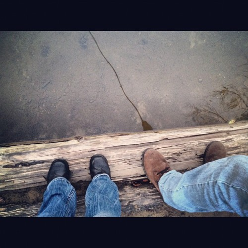 #boyfriend #fishing #feet  (Taken with Instagram)