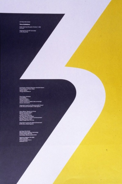 maybeitsgreat:  30 years of design at MIT, Poster by Jacqueline Casey, USA