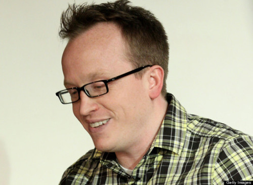 huffpostcomedy:  Chris Gethard will be on HuffPost Live this afternoon to talk about using comedy as therapy. Last week, he reached out on Tumblr to an anonymous, suicidal fan to talk about his own battles with depression, and it was a damn beautiful thing full of humanity and generosity. He'll be joined via webcam by comedian/writer Gabe Delahaye of the blog Videogum, as well as a professor of comedy rhetoric from Texas A&M and a fan or two. Tune in today at 1:20 p.m. EST.