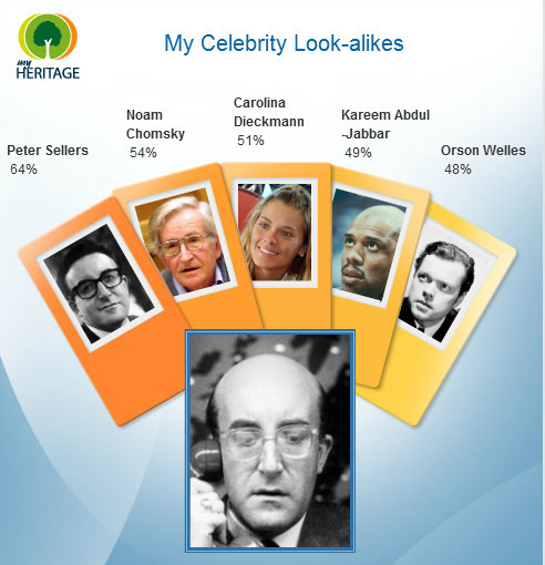 Peter Sellers also looks like Peter Sellers…and Kareem Abdul-Jabbar…