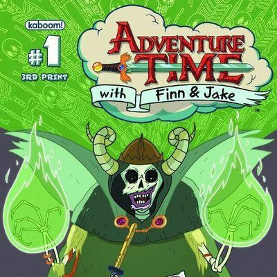 THIRD EYE SPOTLIGHT: ADVENTURE TIME #1-7 — ALL ISSUES IN STOCK NOW! You know it, and we know it: everyone loves ADVENTURE TIME! And, with the insane popularity of the series, we've seen many of these issues going out of print nationwide, but we're stoked to tell you right now: we've got plenty of copies of 1-7 in stock and available now for those of you who've yet to get on board!