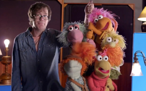 laughingsquid:  Ben Folds Five and Fraggle Rock Official 'Do It Anyway' Music Video
