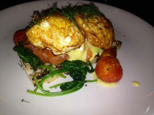 Smoked Salmon Eggs Benedict @ ACME, NYC #delicious!!!