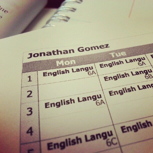 Im Mr.Gomez today :D (Taken with Instagram)