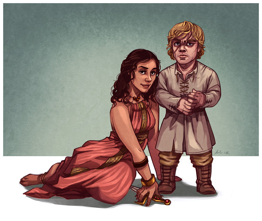Tyrion and Shea by Aviv Or