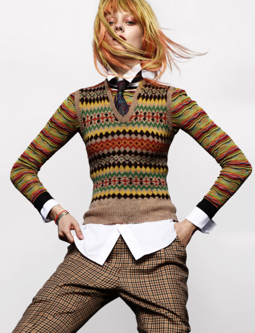 Jump. Monika Jagaciak by Greg Kadel for Numero