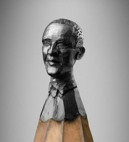 wiblog:  Obama on the tip of a pencil: what would be important enough to write with (and obliterate) this?