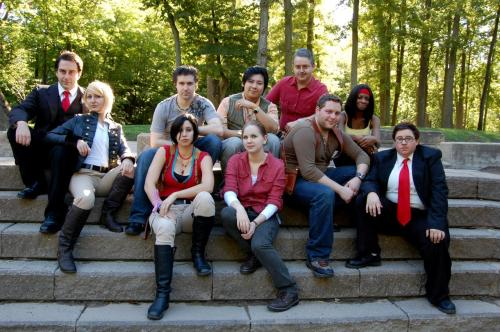 "lady-of-rohan:  Uncharted class photos! ;D Harry Flynn. Chloe Frazer. Rika Raja. Elena Fisher. Nathan Drake. Victor ""Sully"" Sullivan. Katherine Marlowe. Talbot. Eddy Raja. Agent Bro. Photography by the beautiful and talented Andraiatower."