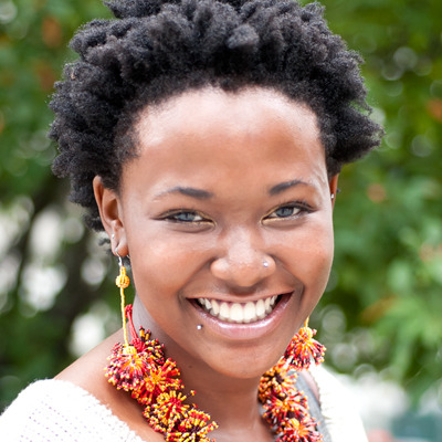 This Marie Claire columnist reveals her natural hair secret!