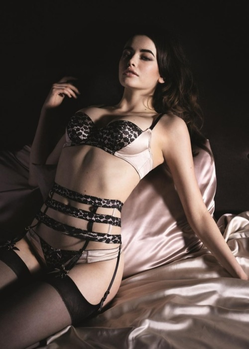 froufroufashionista:  pretty lingerie…if you really squint your eyes the lace looks like leopard