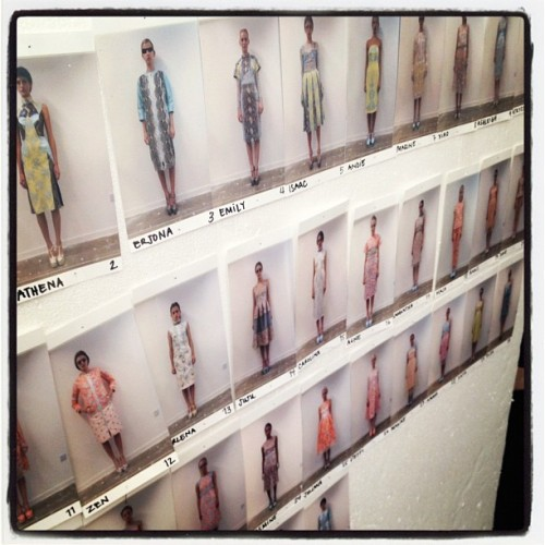 And then there was Erdem… #LFW http://www.thecoveteur.com/Erdem_Moralioglu (Taken with Instagram)