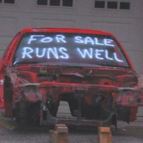 For Sale Runs Well