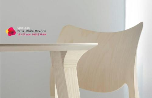 STUA design furniture label from San Sebastian.Want to know spanish design? Come to the Valencia habitat furniture fair.Love-Spain