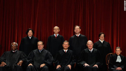 """""""It used to be that what it meant to be a conservative on the Supreme Court was respect for precedent and slow-moving change. What's so different about the Roberts' Court is the way they are burning through many of the precedents they don't like.""""  - Jeffrey Toobin on Chief Justice John Roberts and the Supreme Court"""