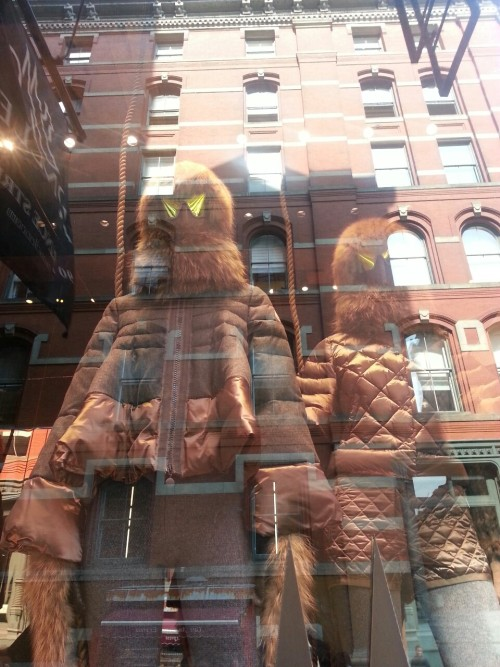 Speaking of exciting flawless labels… Moncler. SoHo.
