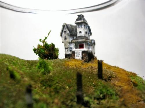 farewell-kingdom:  FaceoftheEarth - Movie Miniatures: Scale Model Beetlejuice Terrarium
