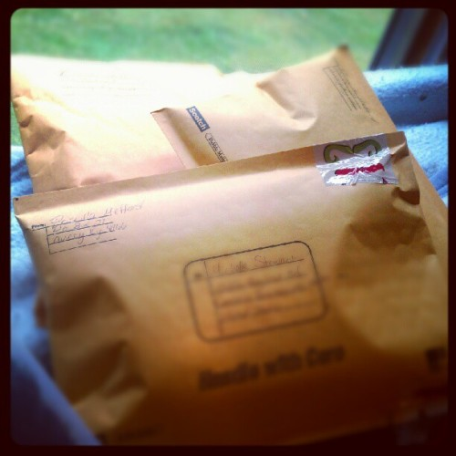 :))) love shipping more than one order at a time (Taken with Instagram)