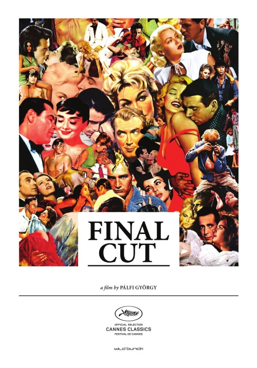 FINAL CUT - LADIES AND GENTLEMEN An odds-on candidate for the greatest movie ever made, Final Cut is entirely composed of scenes from the greatest movies ever made. Spending over three years in the editing room, György Pàlfi created this extraordinary film by culling scenes from over 450 international films and assembling them into a kind of ramshackle narrative. Characters are born, grow up, fall in love, marry, and move into domestic life: Alain Delon exchanges glances with Marilyn Monroe, while Jackie Chan springs to the rescue of Jeanne Moreau. Pàlfi, director of such eccentric gems as Hukkle and Taxidermia, offers a history of the world as told by the movies.
