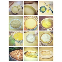 My entire lemon meringue journey. I'm done spaming, I swear. #lemon #meringue #pie #baking #cooking #kitchen #food #foodporn  (Taken with Instagram)