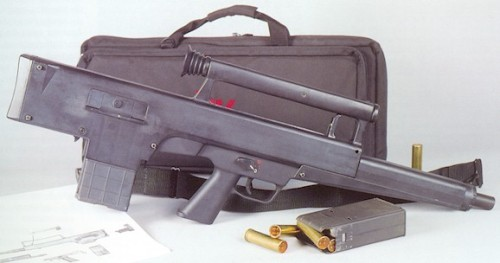ramblinprose:  HK CAWS.  it's like the boxiest box of a gun that ever boxed.