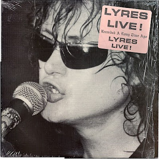 This week's record of choice is Lyres Live. A compilation of many various live radio recordings throughout the band's early existence, Live at Cantones is some of the best garage sounds of the late 1980s. Enjoy.