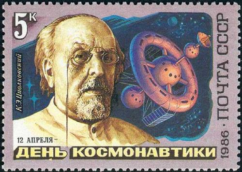 "itsfullofstars:  155 years ago, on September 17, Konstantin Tsiolkovsky, one of the founding fathers of rocketry and astronautics, was born in the Russian province. One of his famous sayings goes: ""Earth is the cradle of humanity, but one cannot live in a cradle forever"". Long before the beginning of the space era this Great Russian scientist derived a formula for space rockets' overcoming the earth's gravity. More. Source: Roscosmos Facebook page."