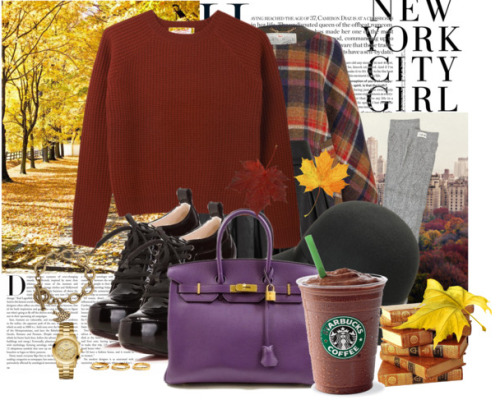 New York City Girl. Isn't this Polyvore board put you in the mood for Fall 2012 in NYC? We think so!