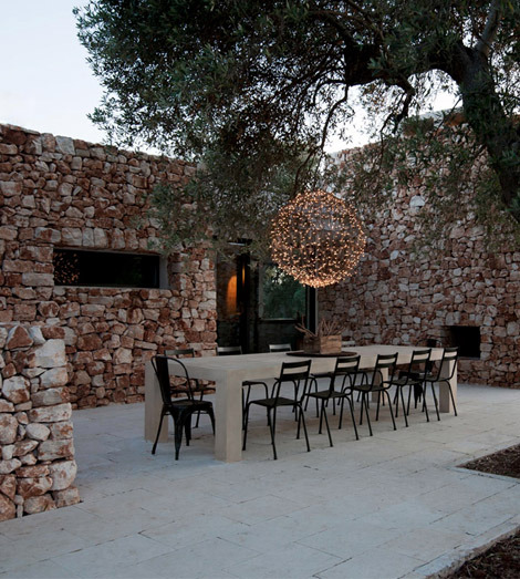 house in the olive grove, italy/luca zanaroli architects via: zainteriora