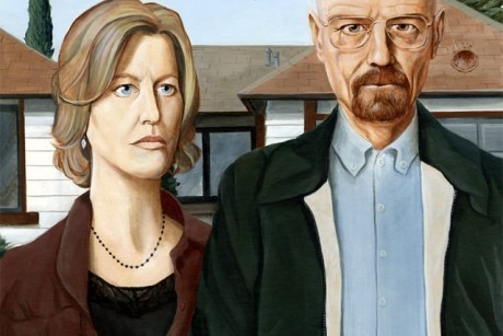 photo: American Gothic gets tweaked