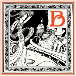 oldbookillustrations:  B is for Bernhardt, who fails to awaken  Much feeling in Bismark, Barabbas, and Bacon. Oliver Herford, from An alphabet of celebrities, Boston, 1899. (Source: archive.org)