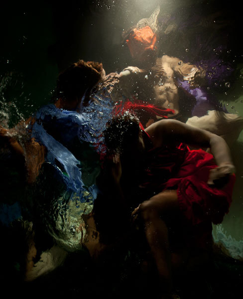 Christy Lee Rogers - Breathtaking underwater photography that looks like oil paintings via @designtaxi