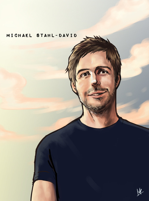 monstarxxx:  Michael Stahl-David I just understand, How to Draw  Dave's Faces.   당신이 그릴 것입니다 포르노 다음 번! HAHAHA~! Just kidding… So damn hot your drawing~!