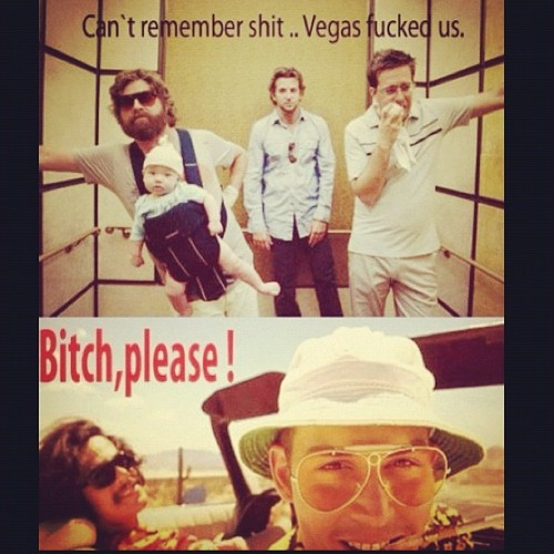 😂😂 #thehangover #fearandloathing #lasvegas #fearandloathinginlasvegas #drugs #vegas #fuckedup #favorite #movies #funny #instagood (Taken with Instagram)