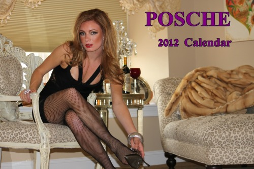 Why didn't anyone tell me Posche had a 2012 calendar? That's nine months of glamour wasted. Owning this would make everyday feel like a Posche Fashion Show.