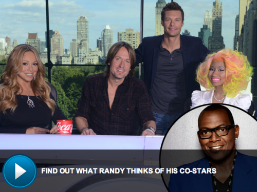 Randy Jackson spills his new partners in crimes…