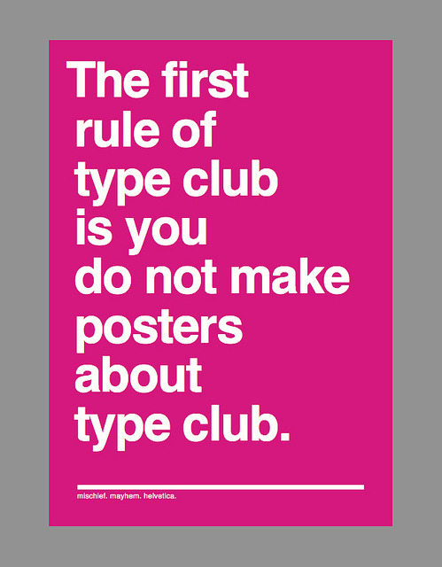 betype:  And if this is your first night at type club: you have to type.