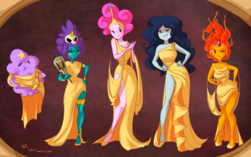 laurangeblossom:  AT - We Are The Muses by *Laur-drawthread /r/