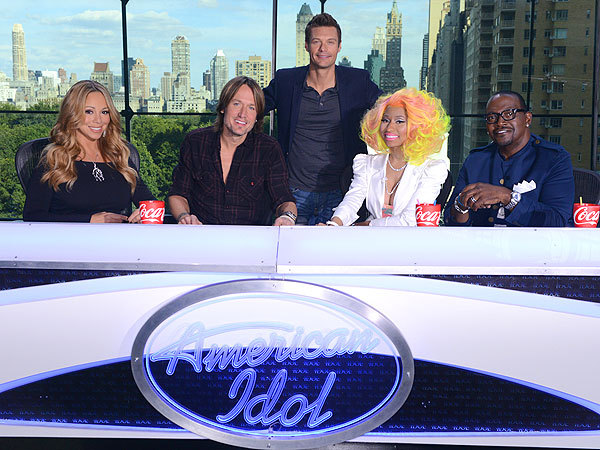 """We are back, it's on.""  - Randy Jackson, on the return of American Idol with new judges Nicki Minaj and Keith Urban, on Twitter"