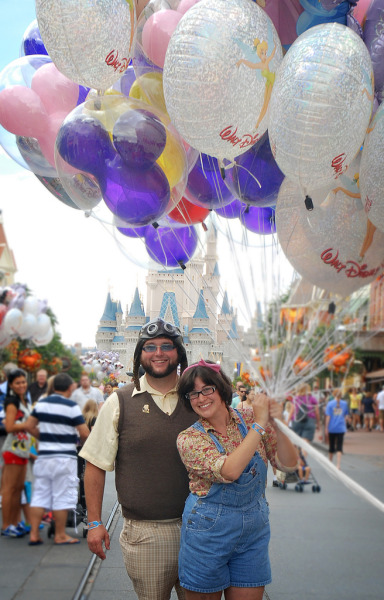 fuckyeahdisneyphotography:  Carl and Ellie, MNSSHP 2012